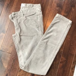Free People taupe cords